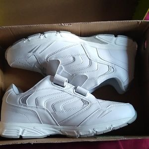 Athletech white shoes size 10 wide